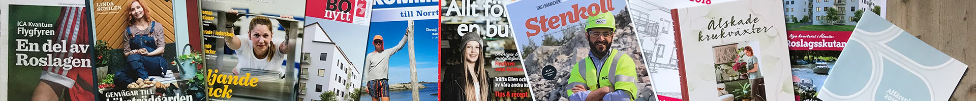 Böcker, bokproduktion Kontakta | Sundin Reklamstudio